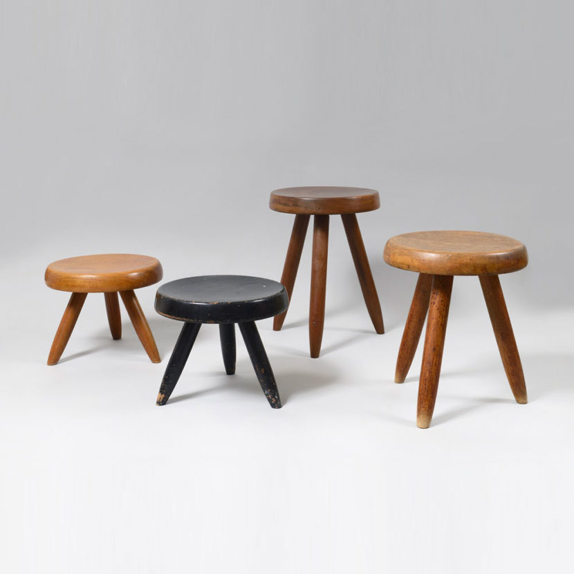 Charlotte Perriand - Tabourets