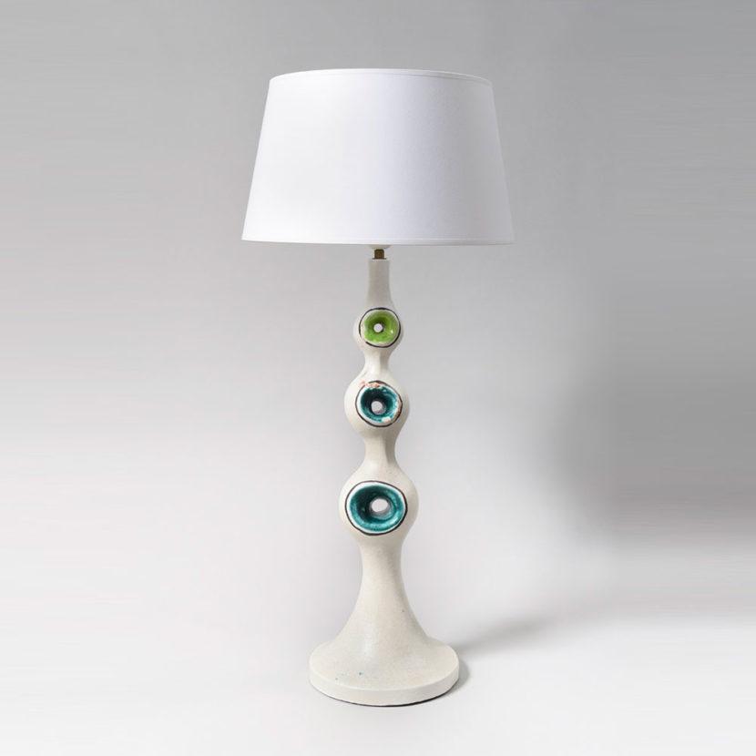 Georges Jouve - Rare Lampe