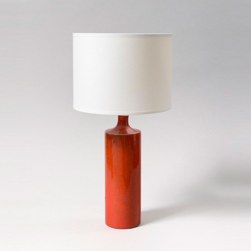 Georges Jouve - Lampe Cylindre
