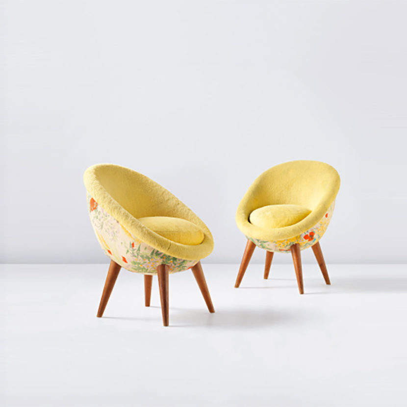 Jean Royère - Fauteuil Oeuf