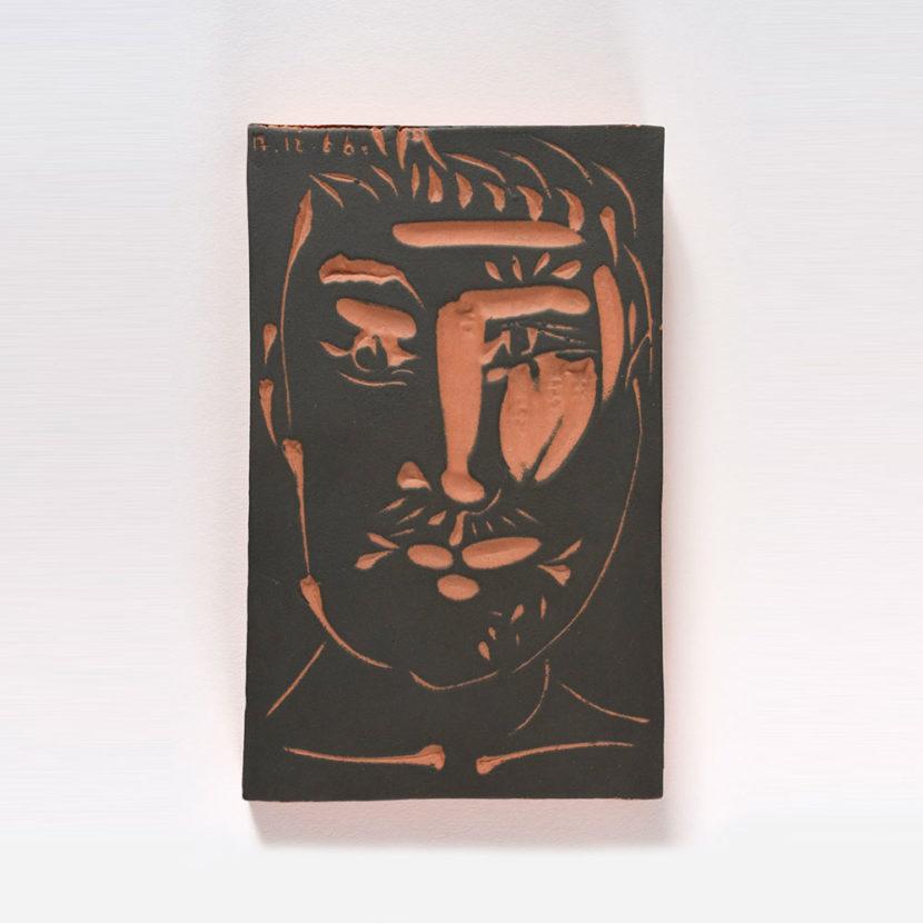 Picasso - Visage Homme - Charraudeau